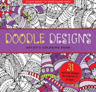 Color 31 Full Page Designs Meditative Patterns Are Complex Yet Calming Heavyweight Paper Is Superior To That Of Other Coloring Books