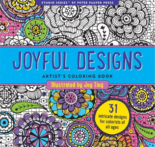 Joyful Designs Artists Coloring Book