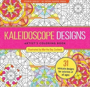 Kaleidoscope Designs Adult Coloring Book